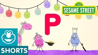Sesame Street: P is for Princess and Prince