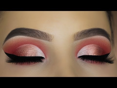 Peachy Eye Makeup Tutorial