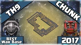 ✅Clash Of Clans: UNEXPECTED TH9 Troll-War Base 2019 - CHUNK + Replays | TOWN HALLY 9 FUNNY BASE