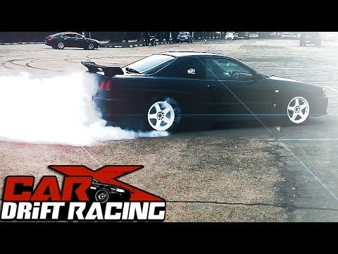 Carx Drift Racing Game Author Kills Rear Tires On His Nissan