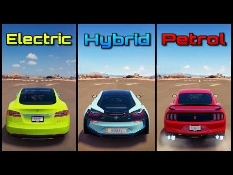 The Ultimate Battle! | Forza Horizon 3 | Tesla Model S vs BMW i8 vs Mustang GT350R