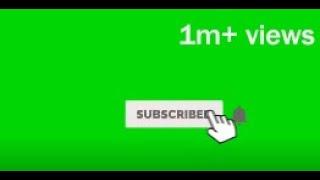 Best green screen subscribe button