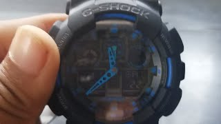 G-Shock GA-100 1A2DR Review
