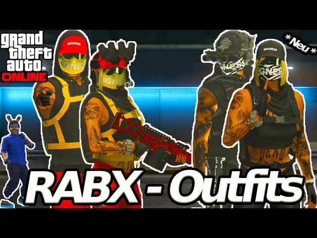 Die offiziellen RABX-Outfits | Gta 5 Online