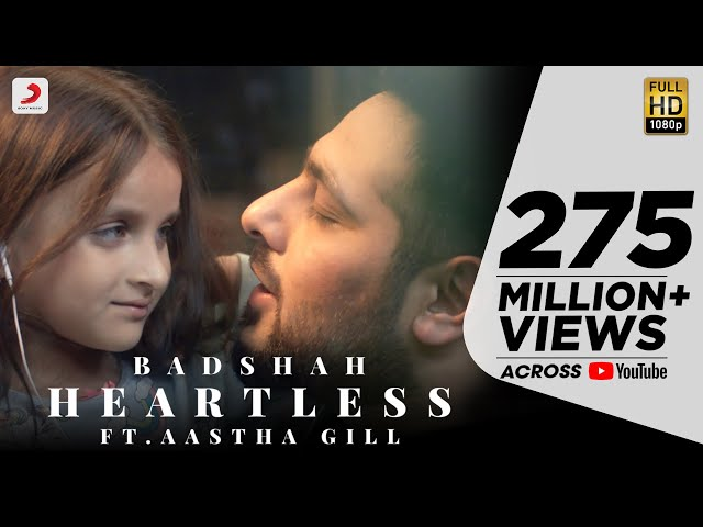 3413a5f9ec7c  Heartless   Badshah and Aastha Gill latest track is sure to touch your  heart