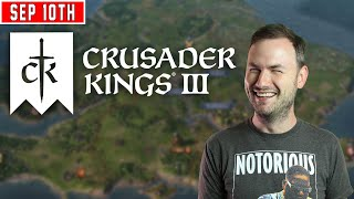 Sips Plays Crusader Kings III  - (10/9/20) - Evening Stream
