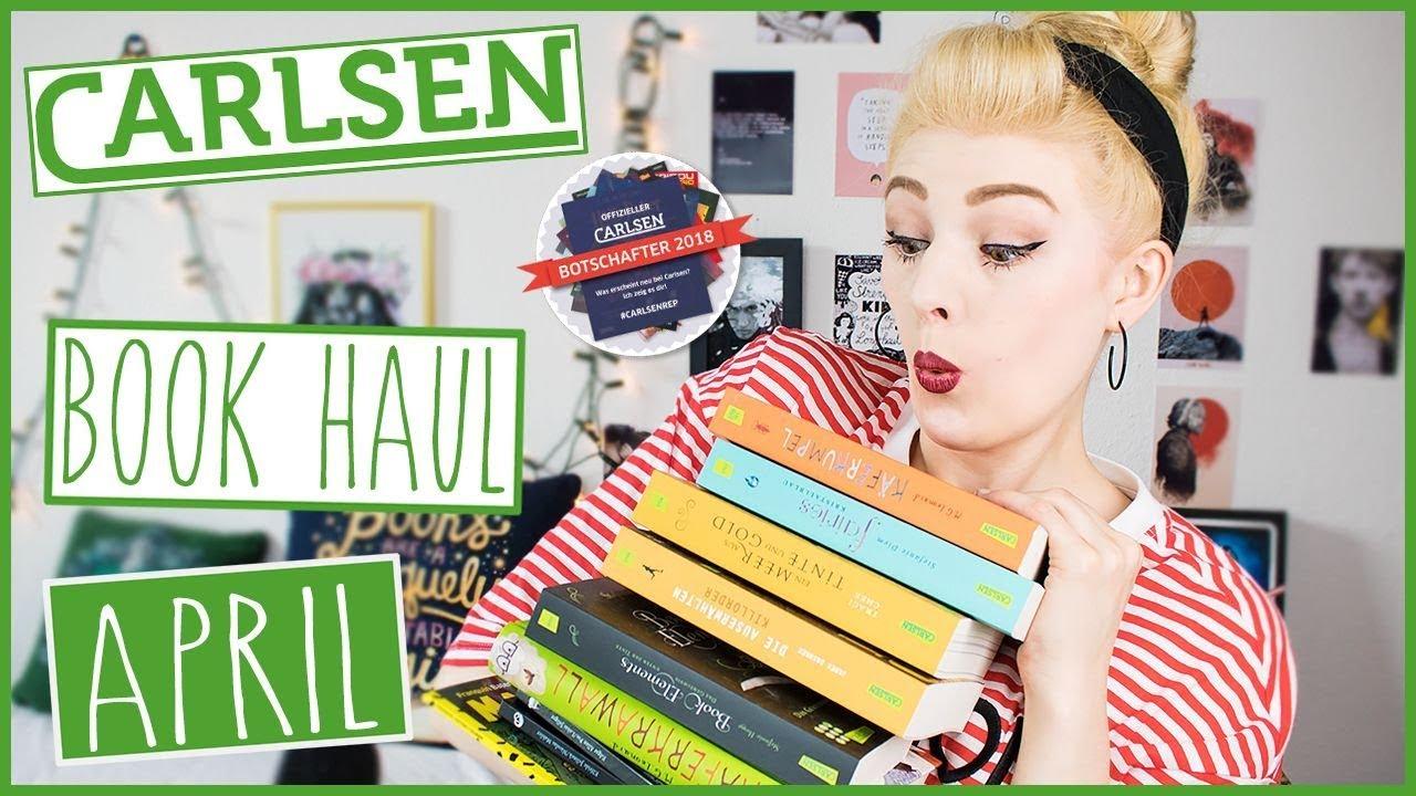 KRAWALL MIT KÄFERN | Carlsen Book Haul | April - YouTube