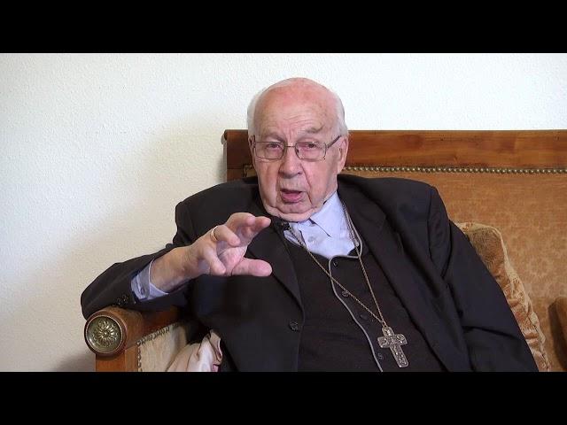 Mgr Marchand, interview pour ses 40 ans d'épiscopat