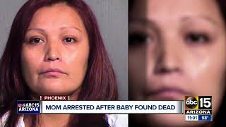 Press conference on Phoenix baby found dead
