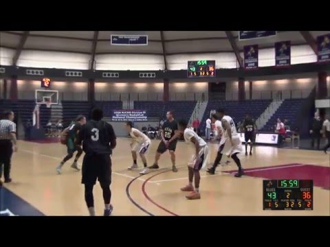 Brookdale Men's Basketball December 10, 2015 vs. Ocean County College