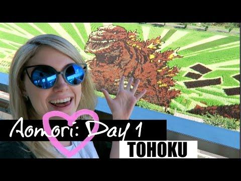 Aomori Day 1//Tanbou Art Fields & Mount Osore