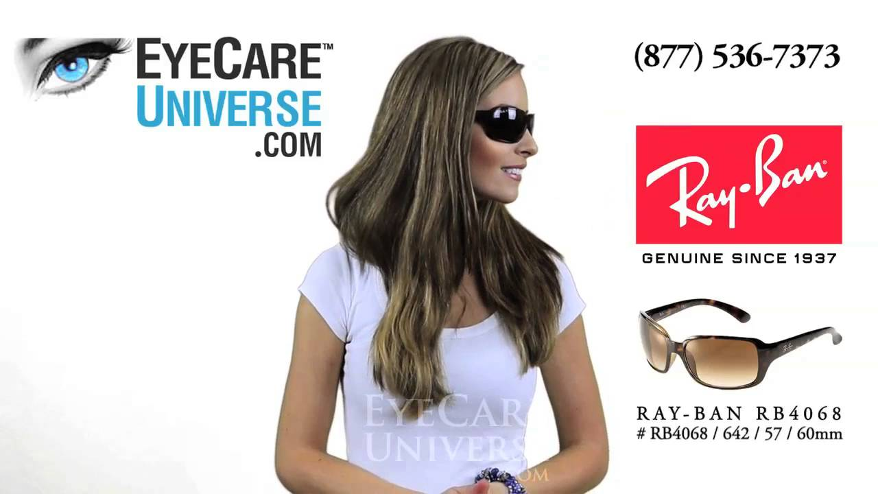 eb994c6afc Ray Ban RB4068 60mm Havana 642 57 Detailed Review - YouTube