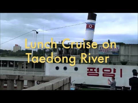 North Korea - Sailing on Taedong River (DPRK)