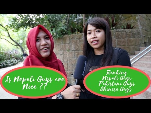 What Indonesian/Philipino Girls Think About Nepali Guys||Street Interview||Social Experiment||