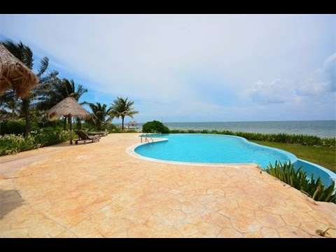 BEACHFRONT HOUSE FOR SALE IN PUERTO MORELOS