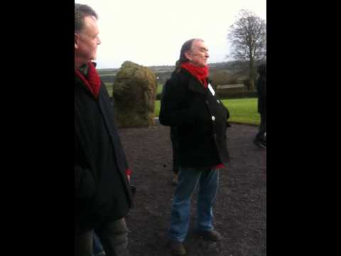 Martin Carthy Sings Virginia at Newgrange Ireland feb. 2013