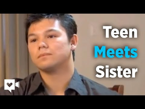 Homeless teen finds sister but that's not the best part