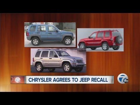 Chrysler announces Jeep recall