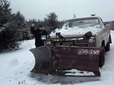 1986 Chevy M1008 6.2 L Diesel Military Plow Truck w/Boss V ...