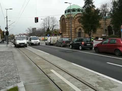 Trg Slavija Bulevar Oslobođenja I Ruzveltova Ulica Danas Pusteni