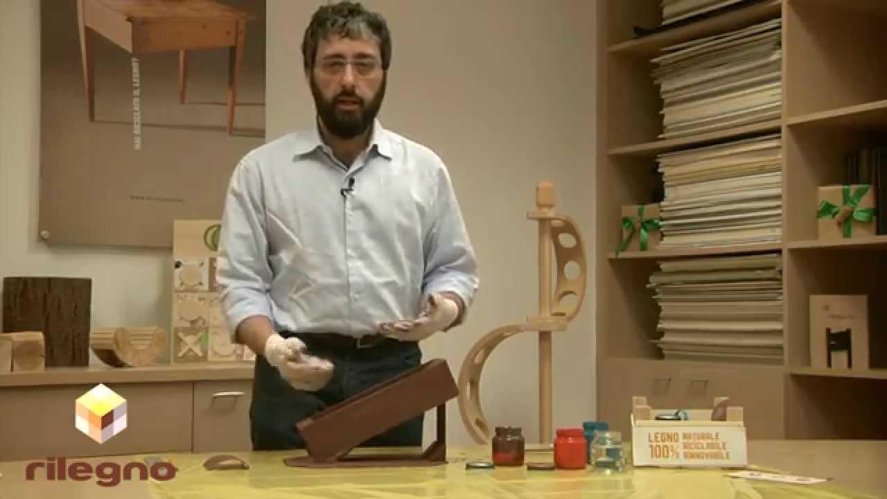 TUTORIAL #legnoerilegno n.2: costruire un portabottiglie con una cassetta di frutta  Video ...