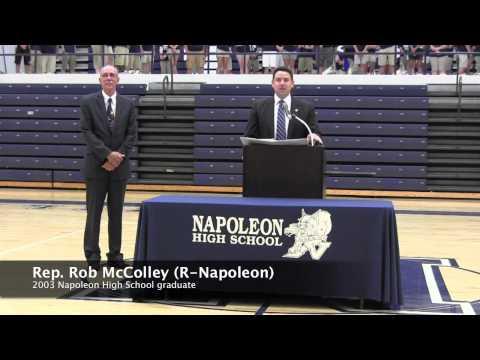 School Dedication - Napoleon, Ohio