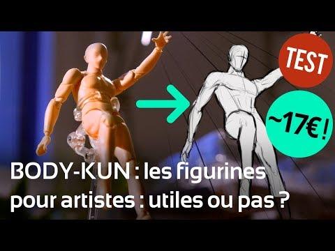 Les figurines de dessin BODY-KUN : utiles ou pas ? Test + prix imbattable