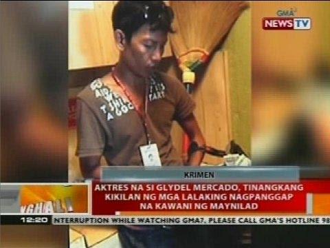 Aktres na si Glydel Mercado, tinangkang kikilan ng mga lalaking nagpanggap na kawani ng Maynilad