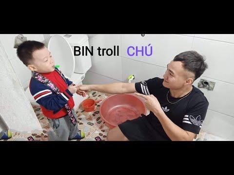 Troll Dầu Gội đầu Sunsilk- Bin Troll Chú - TV BINBIN