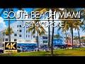 【4K】WALK OCEAN DRIVE walking tour South Beach Miami ...