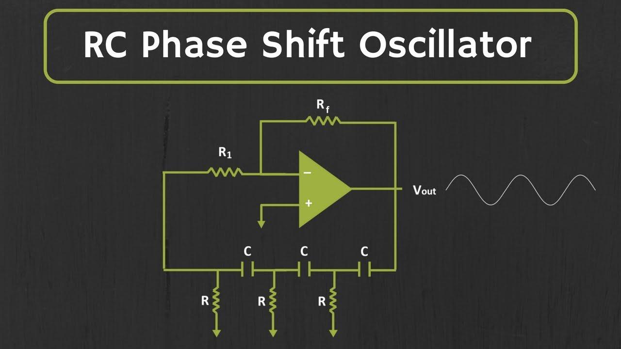 RC Phase Shift Oscillator (using Op-Amp) Explained - YouTube