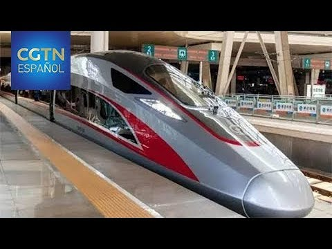 Tren bala Fuxing comenzará a operar