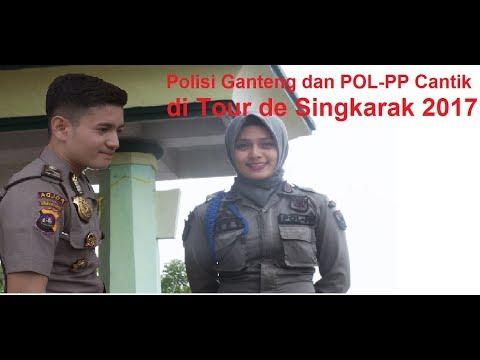 Tour de Singkarak 2017, Kesibukan Polisi diacara TdS, Polisi Ganteng dan Pol-PP Cantik Detected