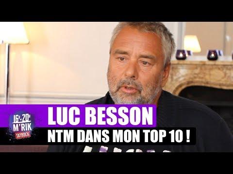 """Interview Luc Besson - NTM """"Laisse pas trainer ton fils"""" dans son top 10 !"""