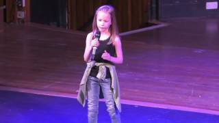 CHANDELIER/ TITANIUM- VARIOUS ARTIST performed by BROOKE BURKE at TeenStar North East Area Final