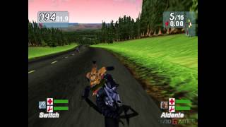Road Rash Jailbreak - Gameplay PSX (PS One) HD 720P (Playstation classics)
