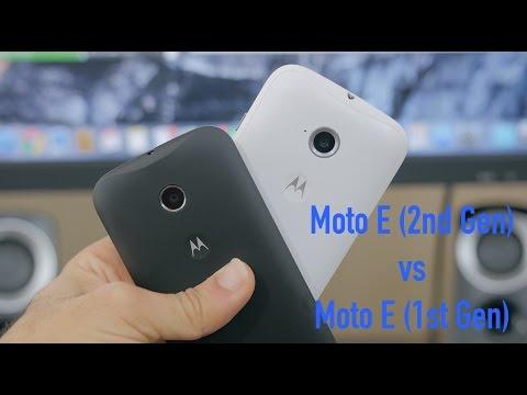 Moto E (2nd Gen) vs Moto E (1st Gen)