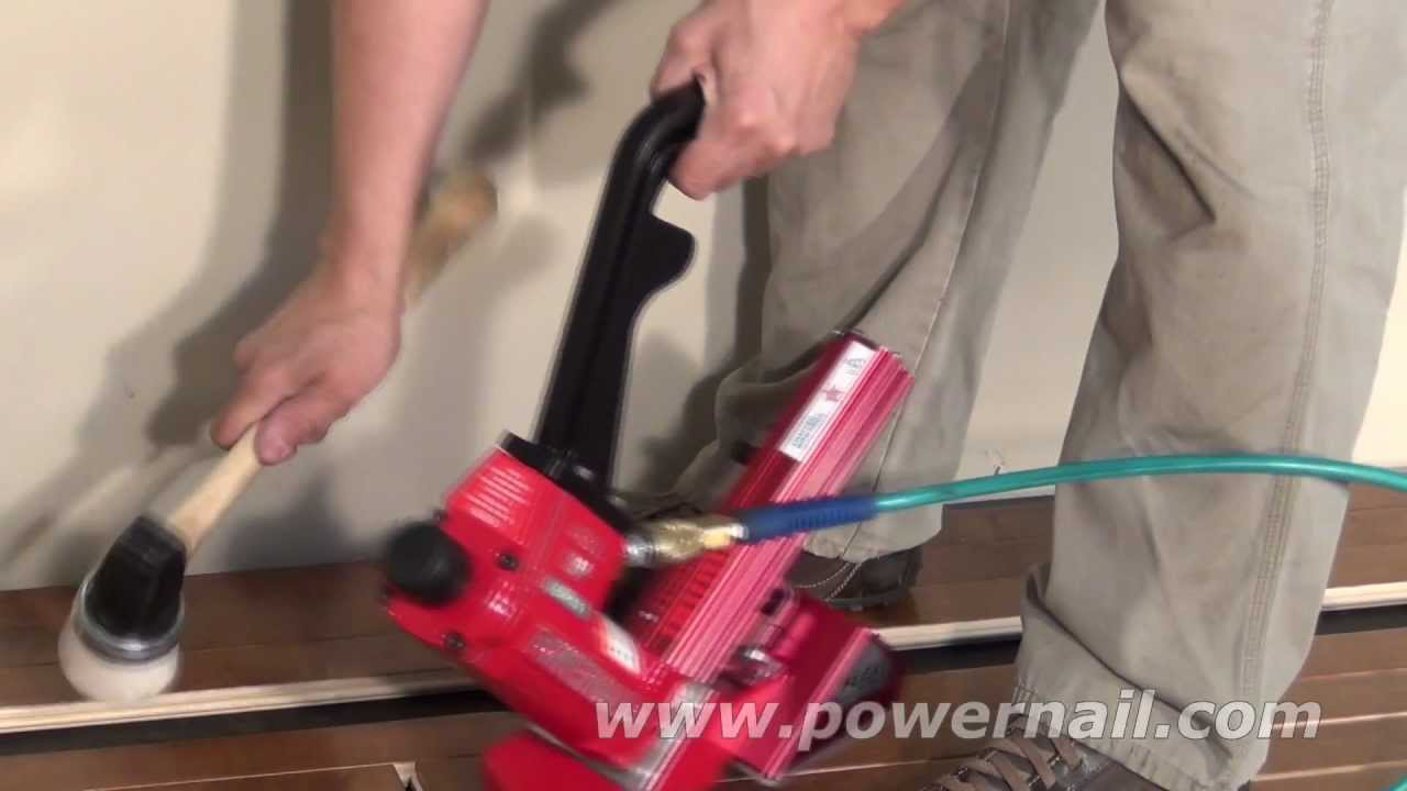 Basic Steps For Installing Tongue Groove Flooring Youtube
