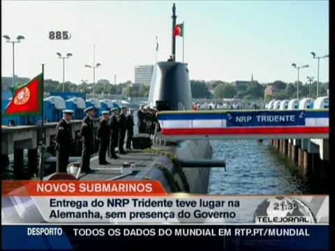 "Portugal recebe o primeiro submarino ""Tridente"""