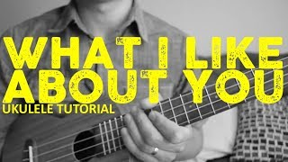 What I Like About You - The Romantics - EASY Ukulele Tutorial - Chords - How To Play