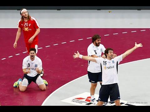 Mundial de Handball 2015: Argentina vs Dinamarca