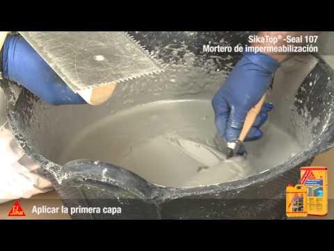 Mortero de Impermeabilización SikaTop Seal-107 - Sika España