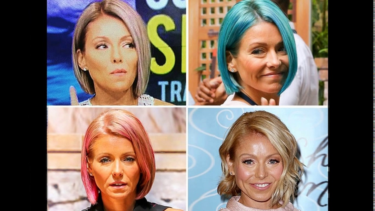 kelly ripa short haircut curly