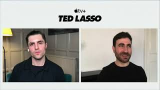 Talking 'Ted Lasso' with Brett Goldstein and Phil Dunstar: how Sudeikis is 'a god,' and playing FIFA