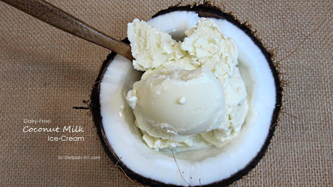 dairy free coconut ice cream recipe