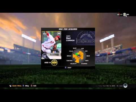 MLB Road to the show 3rd Base Number 4 Jorge Rea part 18