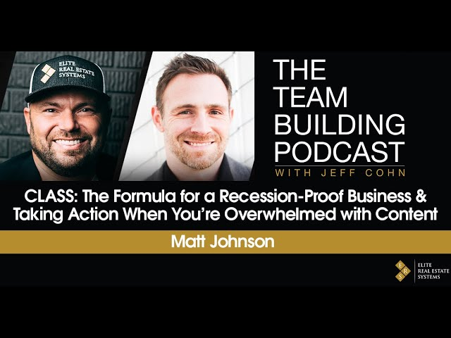 The Formula for a Recession-Proof Business & Taking Action When You're Overwhelmed with Content