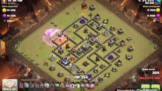 Th9 vs Th9: Queen Walk + LaLoon ( ⓗⓐ.ⓝⓞⓘ - HA.NOI - Clash Of Clans)