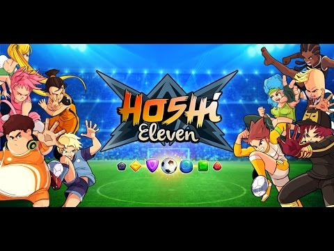 Hoshi Eleven - Soccer Puzzle Quest - Official Trailer