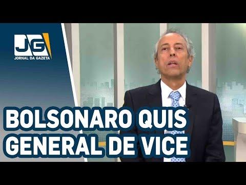 Bob Fernandes / Bolsonaro quis general de vice, PRP não quis...E como roubavam bilhões na ditadura